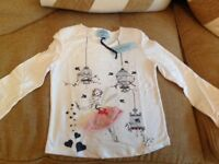 Little Dickinson & Jones girls fancy top age 7-8 years - new with label