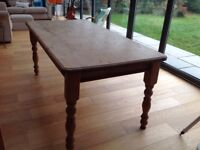 Kitchen table farmhouse style