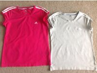 Ladies Adidas T-shirts (size 20)
