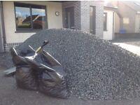 Gravel/chips Moorland black granite