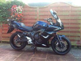 Motorcycle Yamaha fazer FZ6 S2 2008