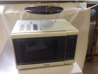 Panasonic combined microwave and conventional grill and oven