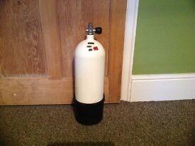 10 litre 232 bar diving cylinder
