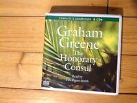 Graham Greene, The Honorary Consul. unabridged 8 CDs