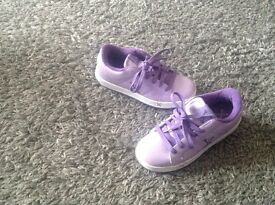 Girls Heely shoes 2 pairs available uk 11 and uk 4