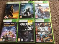 Xbox 360 games in great condition