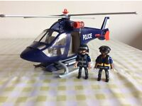 Playmobil Police Helicopter with LED Spotlight (5183)