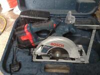 Bosch professional 24v battery saw