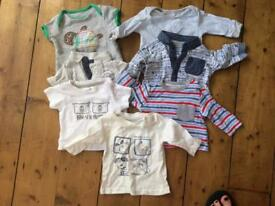 Baby Boys Clothing Bundle - Newborn - 21 items including Ted Baker, Junior J, Boots MiniClub