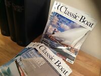 CLASSIC BOAT MAGAZINES - LARGE COLLECTION