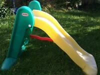 Little tikes baby slide