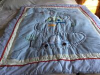 Baby boy cot cover/throw