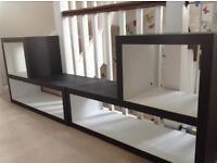 Shelving display units