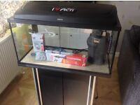 Tropical / Cold Water Aquarium 75ltr with Stand