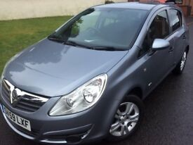 2009 VAUXHALL CORSA ACTIVE 1.2i, 5 DR, 1 OWNER CAR, GENUINE LOW MILEAGE, FULL YEARS MOT,