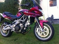 APRILIA 'SHIVER' G.T, 2011, 6300 MILES, FULL SERVICE HISTORY, 2 PREVIOUS OWNERS