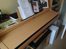 Roland HPi-5 Electronic Piano & Storage Stool - Owned from new, excellent condition