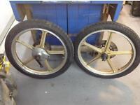 Kawasaki Ar50 80 125 Kh100 wheels