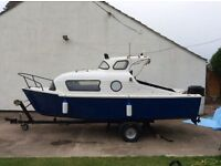 For sale 18ft boat