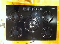Zanussi 5 burner gas hob excellent condition