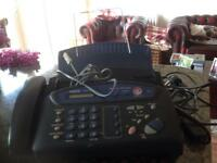Fax/phone/answering machine