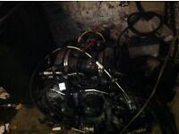 Porsche engine 3.2 twin turbo flat 6