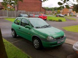 Vauxhall Corsa 1.2 litre breeze. power steering, great first car