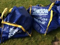 Sand and gravel mix approx one tonne in two dumpy bags
