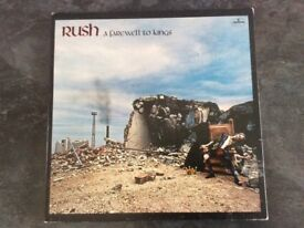 Rush -Farewell to Kings - Vinyl LP 1977