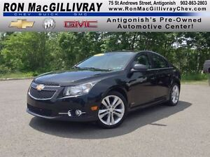 2013 Chevrolet Cruze LT..Sunroof..Satellite Radio..GM Certified!