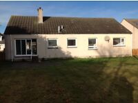 3 Bedroom house to rent in FINDHORN entry early Dec with garden unfurnished