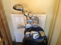 GOLF CLUBS WILSON FAT SHAFT COMPLETE SET