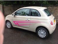 2013 Fiat pop 500 1.2 5 speed