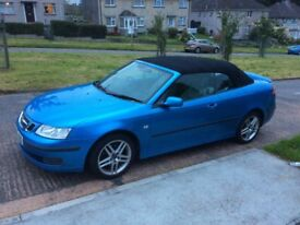 Saab 93 vector, convertible, 1.9 tid diesel, manual 6 speed, service history, plymouth, may px