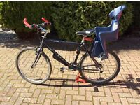 Sold sold. Marin Palasidas Trail Bike with child seat