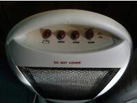 Easylife Halogen 1200w portable electric heater + Consort element heater