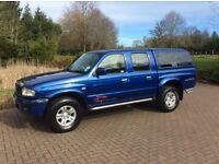 MAZDA BARRACUDA B2500 4 STYLE DOUBLE CAB' 2005, 12 Months MOT, Full Service History, 115 K Miles
