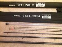 Shimano Technium Multi Range Feeder Heavy extendable fishing rod. Three tips. Brand new.
