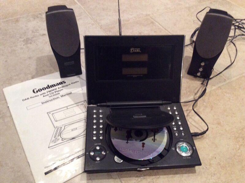 Goodmans DAB Radio & CD player for sale  Ashtead, Surrey