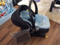 Mamas and Papas Primo Viaggio Car Seat Isofix Base Footmuff Raincover Courier Delivery