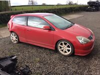 BREAKING ALL EP3 HONDA CIVIC TYPE R 'S FOR PARTS