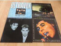 Albums on vinyl