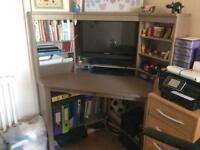 Ikea Hemnes Corner desk - grey