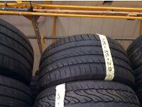 315/35/20 Runflat Dunlop x2 excellent tread