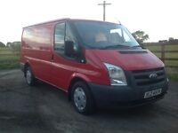 **** NO VAT **** 2009 FORD TRANSIT 85 T260 **ONLY 73,000 MILES ** FULL YEARS MOT EXCELLENT CONDITION