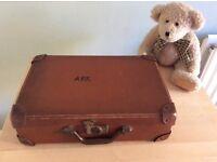 Vintage Child's Refugee Suitcase