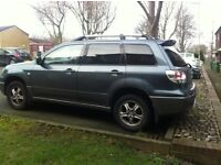 Mitsubishi Outlander Sport 2.4 2004 for sale or swap with a van transit, traffic vivaro etc.