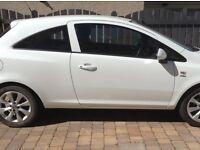 White Vauxhall Corsa 62