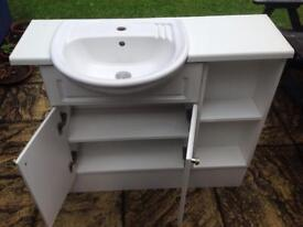 Bathroom vanity unit, used