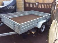 8 x 5 Galvanised Paxton trailer